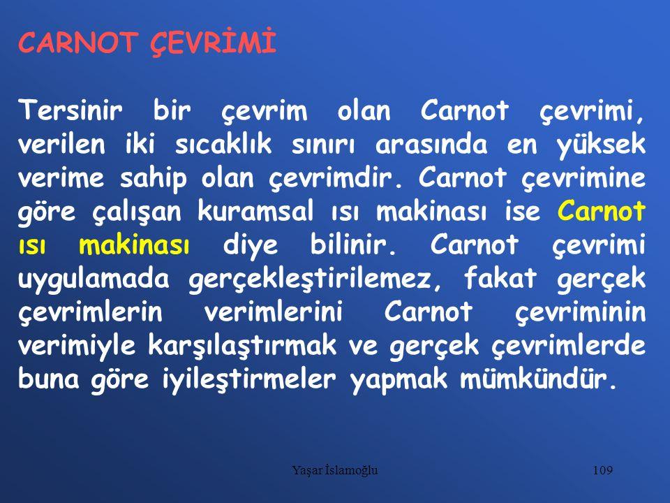 CARNOT ÇEVRİMİ