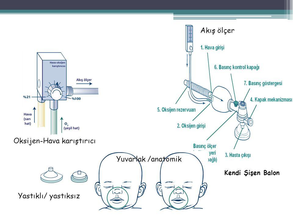 Oksijen-Hava karıştırıcı