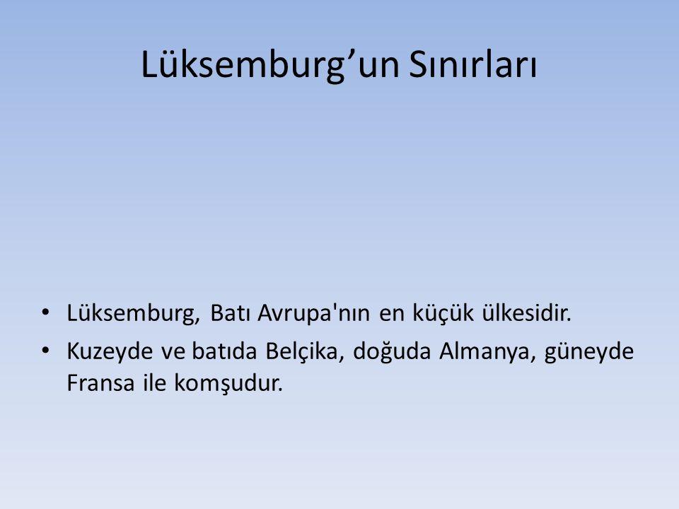 Lüksemburg'un Sınırları
