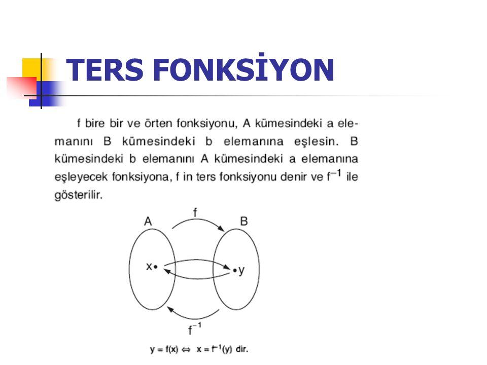 TERS FONKSİYON