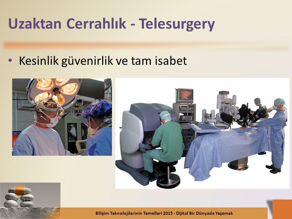 Uzaktan Cerrahlık - Telesurgery