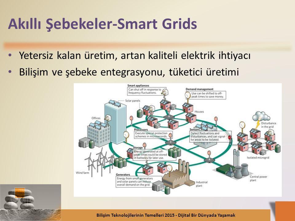 Akıllı Şebekeler-Smart Grids