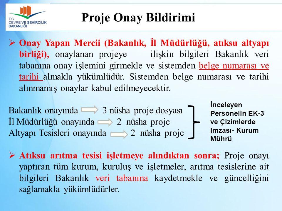Proje Onay Bildirimi