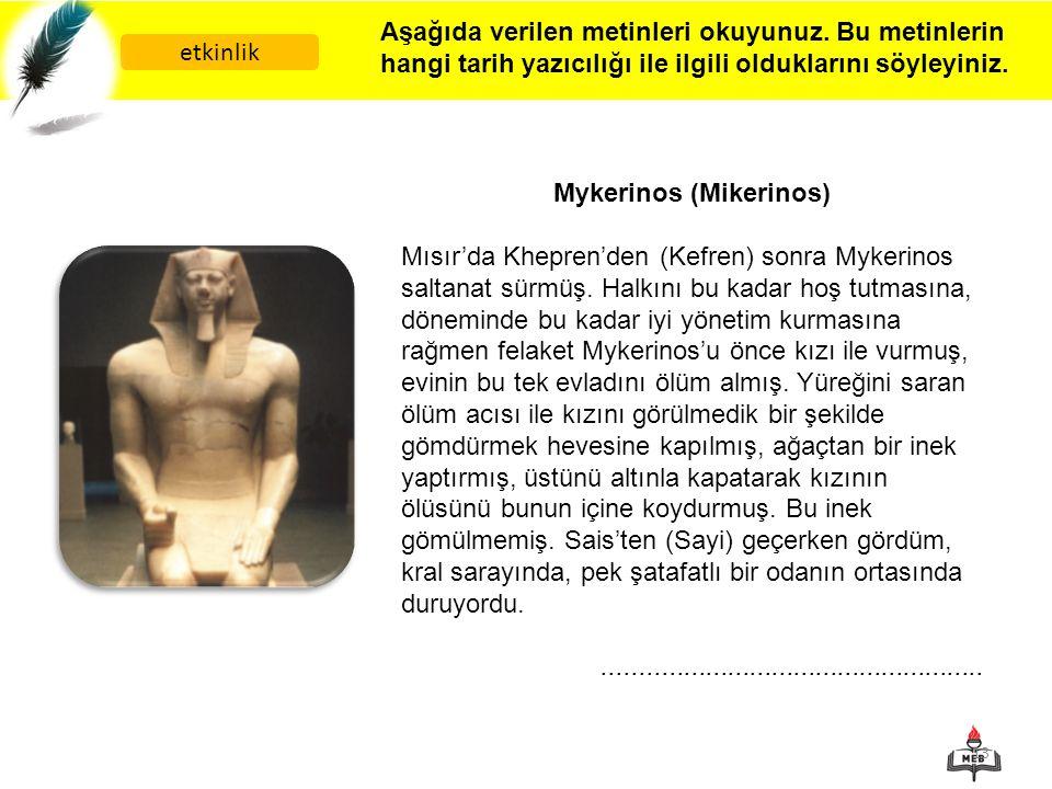 Mykerinos (Mikerinos)