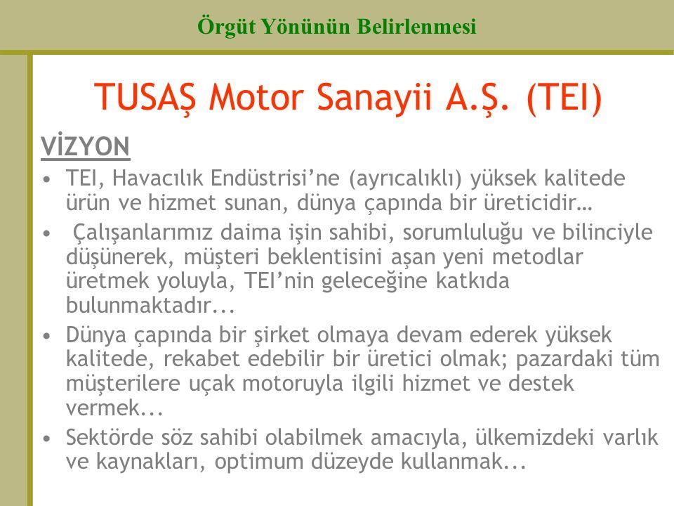 TUSAŞ Motor Sanayii A.Ş. (TEI)