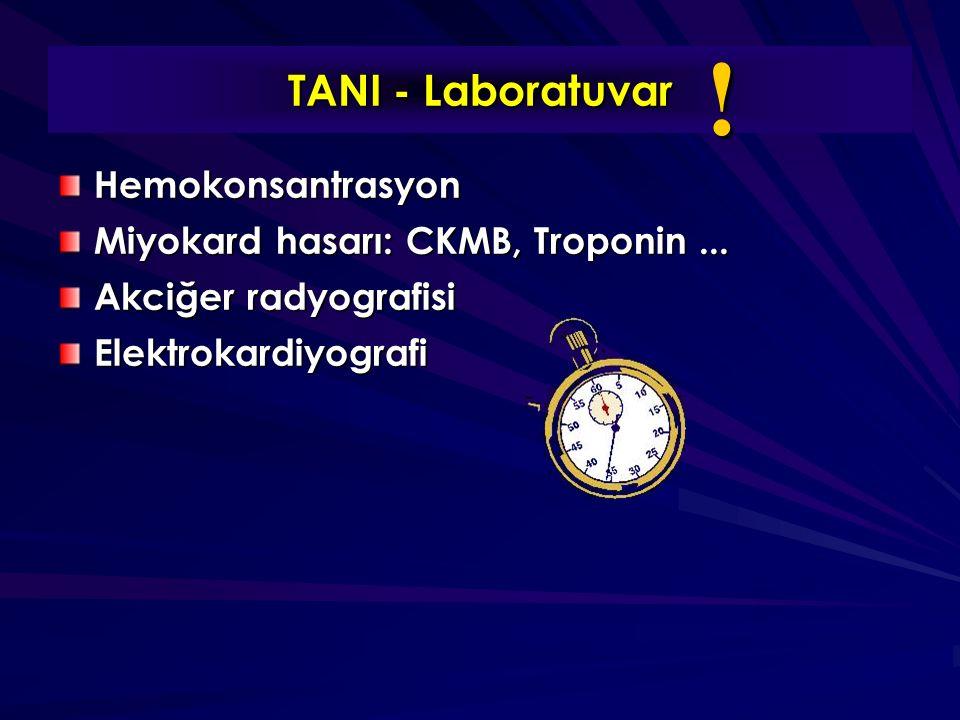! TANI - Laboratuvar Hemokonsantrasyon