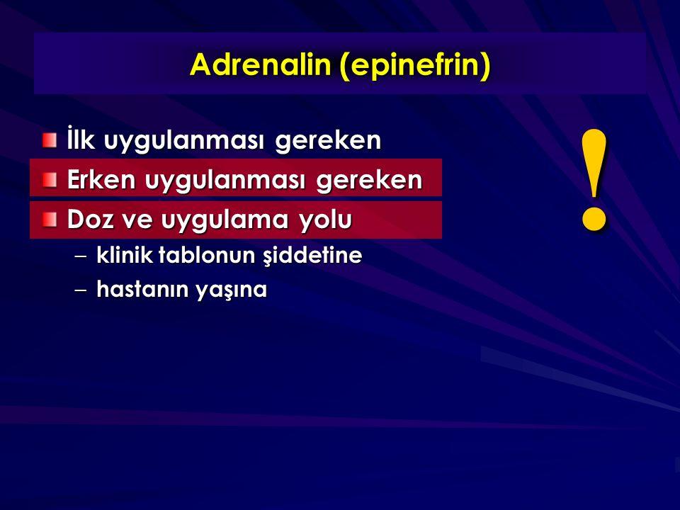 Adrenalin (epinefrin)