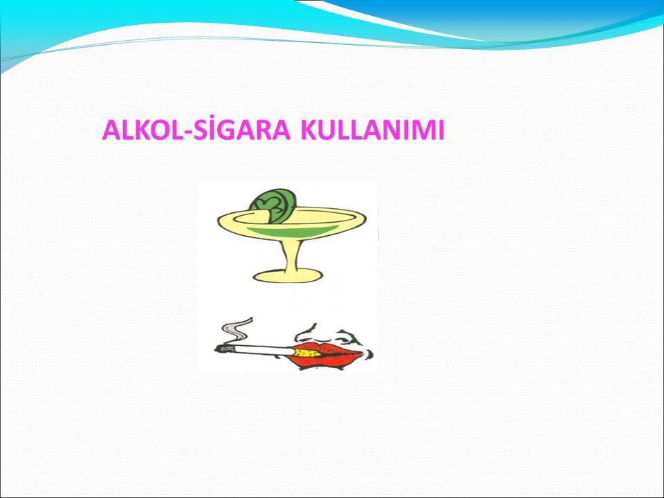 ALKOL-SİGARA KULLANIMI