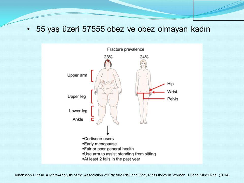 55 yaş üzeri 57555 obez ve obez olmayan kadın