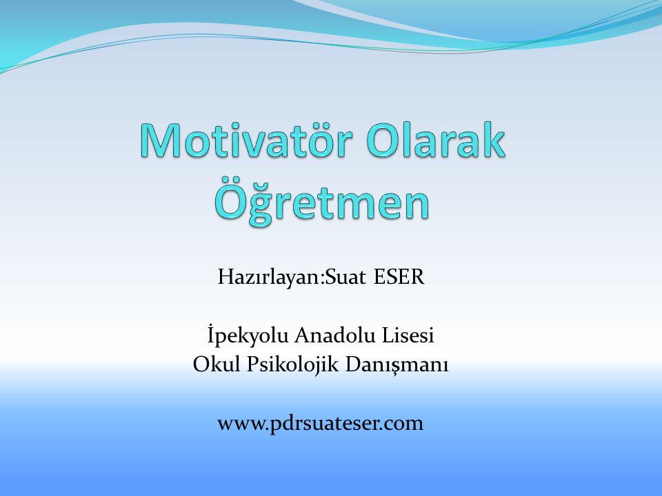Motivatör Olarak Öğretmen