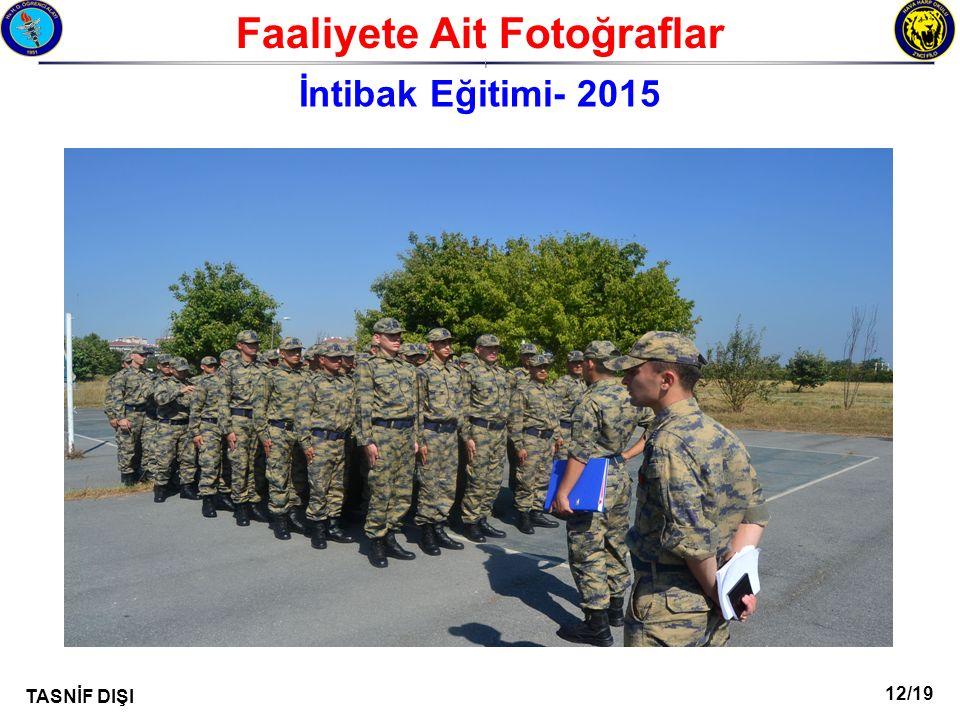 Faaliyete Ait Fotoğraflar