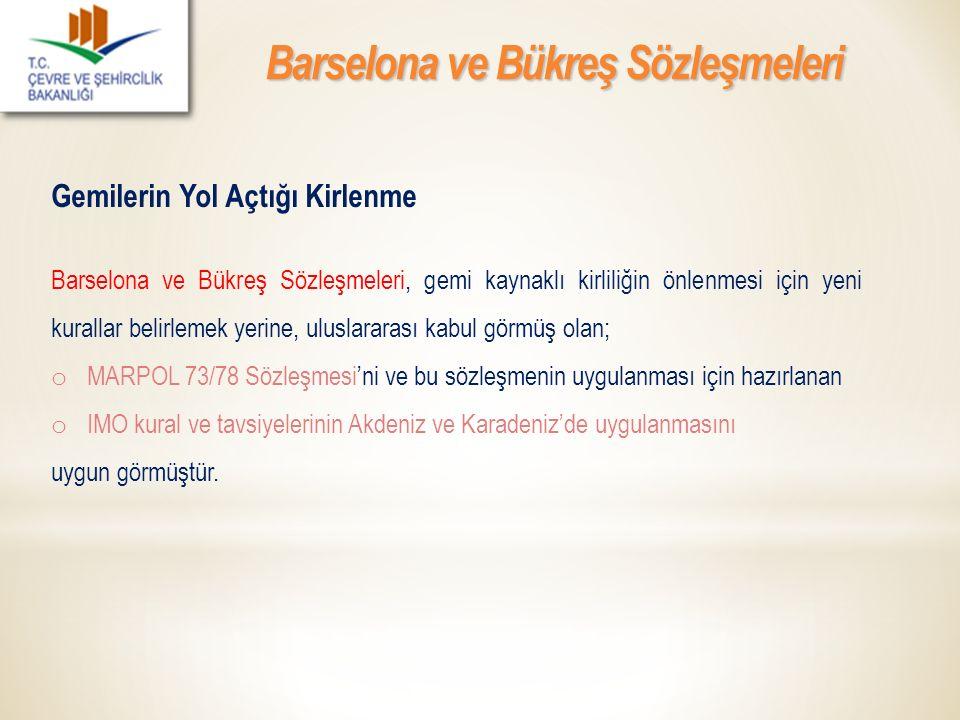 Barselona ve Bükreş Sözleşmeleri