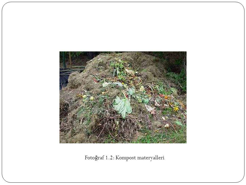 Fotoğraf 1.2: Kompost materyalleri