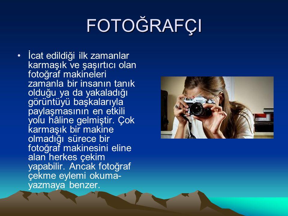 FOTOĞRAFÇI