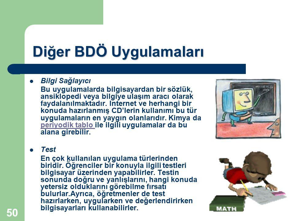 Diğer BDÖ Uygulamaları