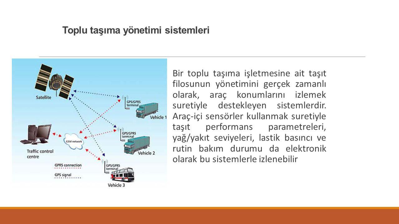 Toplu taşıma yönetimi sistemleri