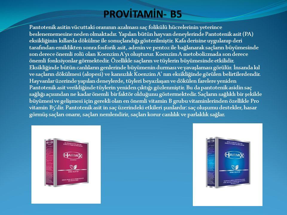PROVİTAMİN- B5