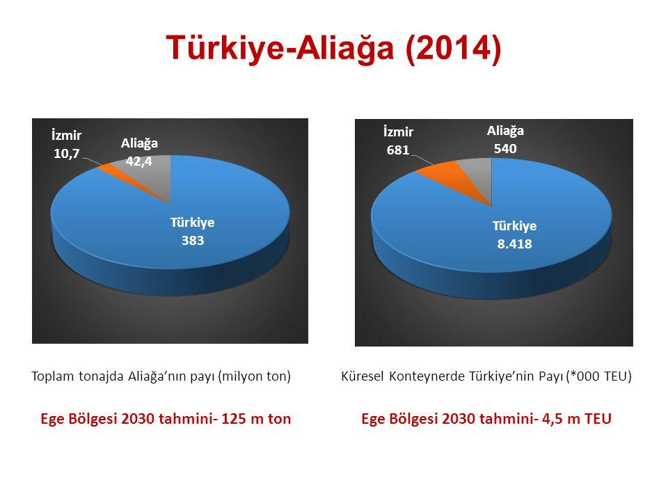Türkiye-Aliağa (2014) Ege Bölgesi 2030 tahmini- 125 m ton