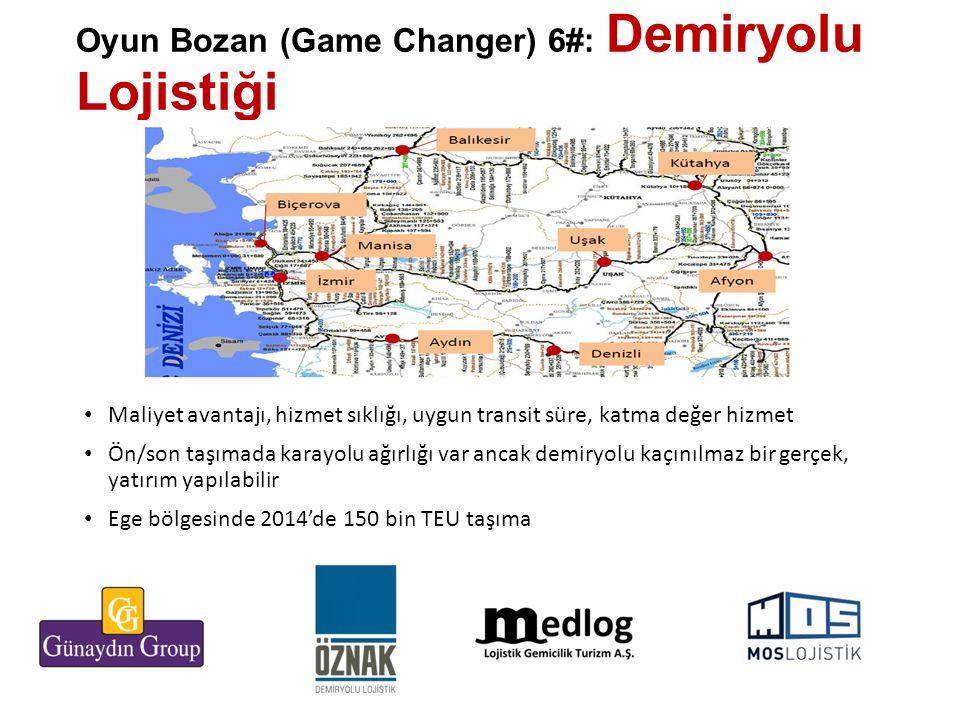 Oyun Bozan (Game Changer) 6#: Demiryolu Lojistiği