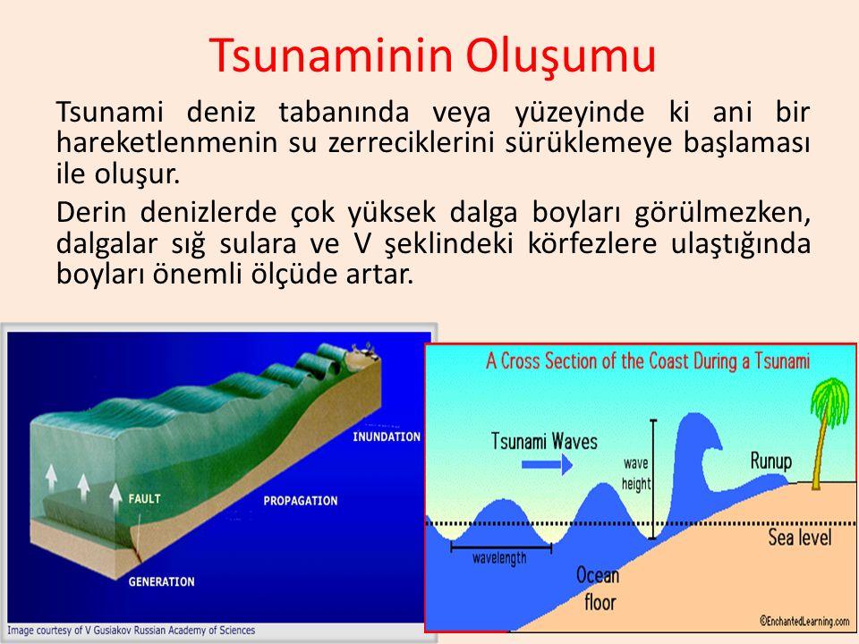 Tsunaminin Oluşumu