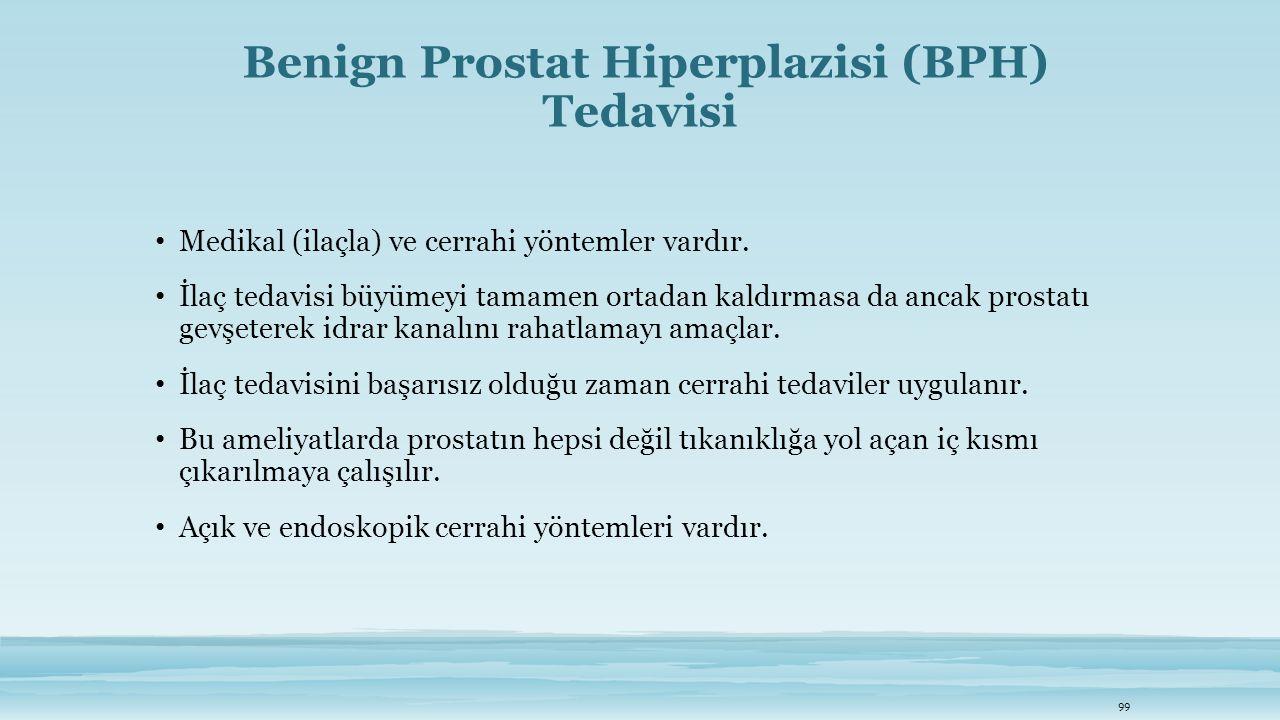 Benign Prostat Hiperplazisi (BPH) Tedavisi