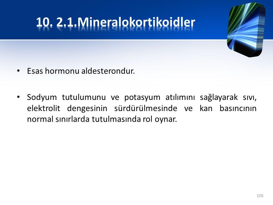 10. 2.1.Mineralokortikoidler
