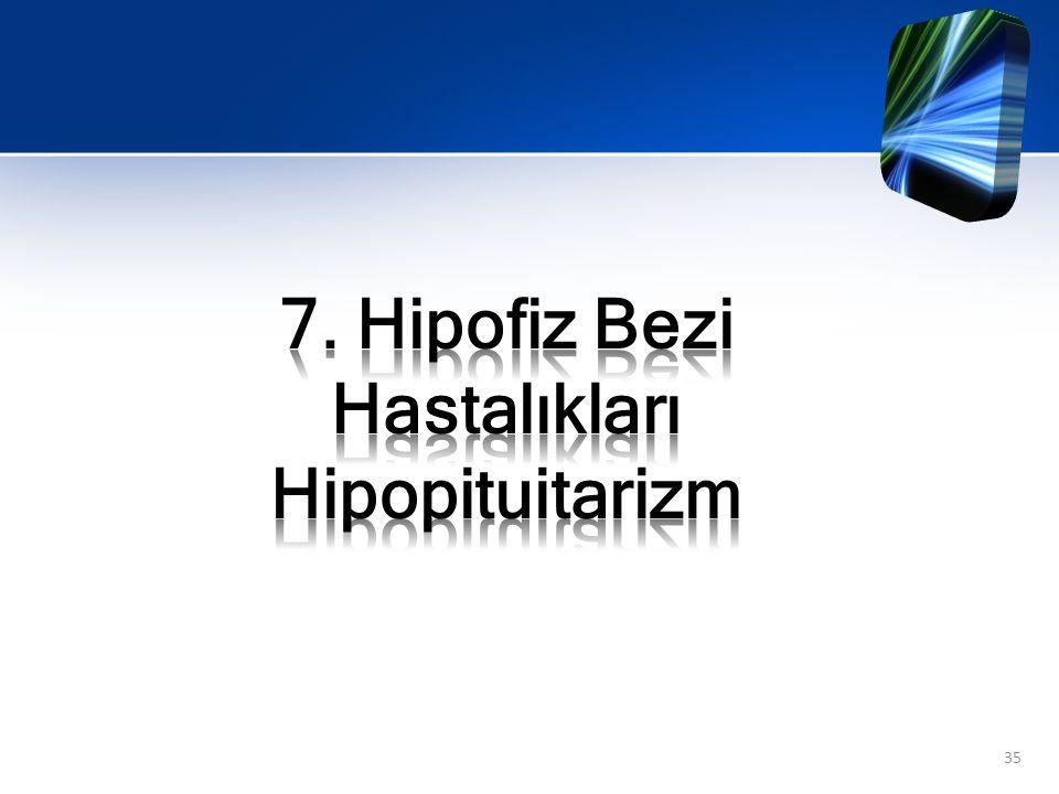 7. Hipofiz Bezi Hastalıkları Hipopituitarizm