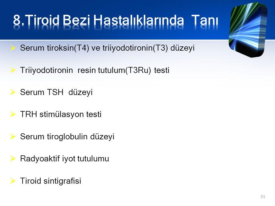 8.Tiroid Bezi Hastalıklarında Tanı