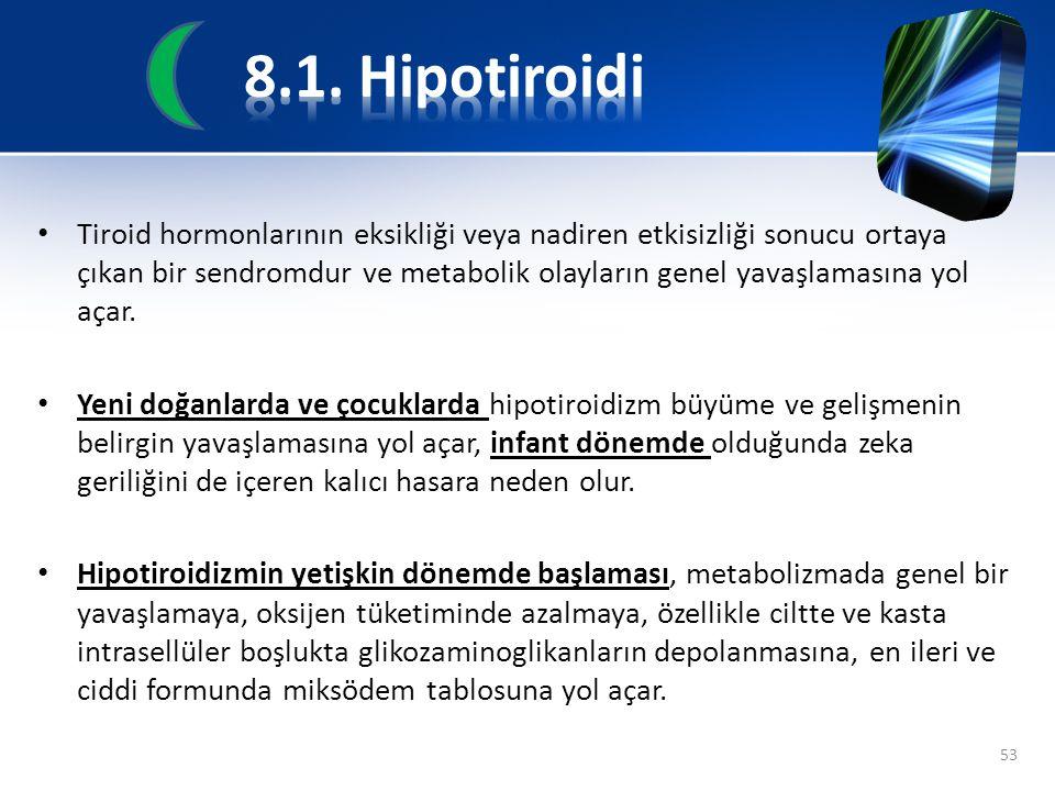 8.1. Hipotiroidi