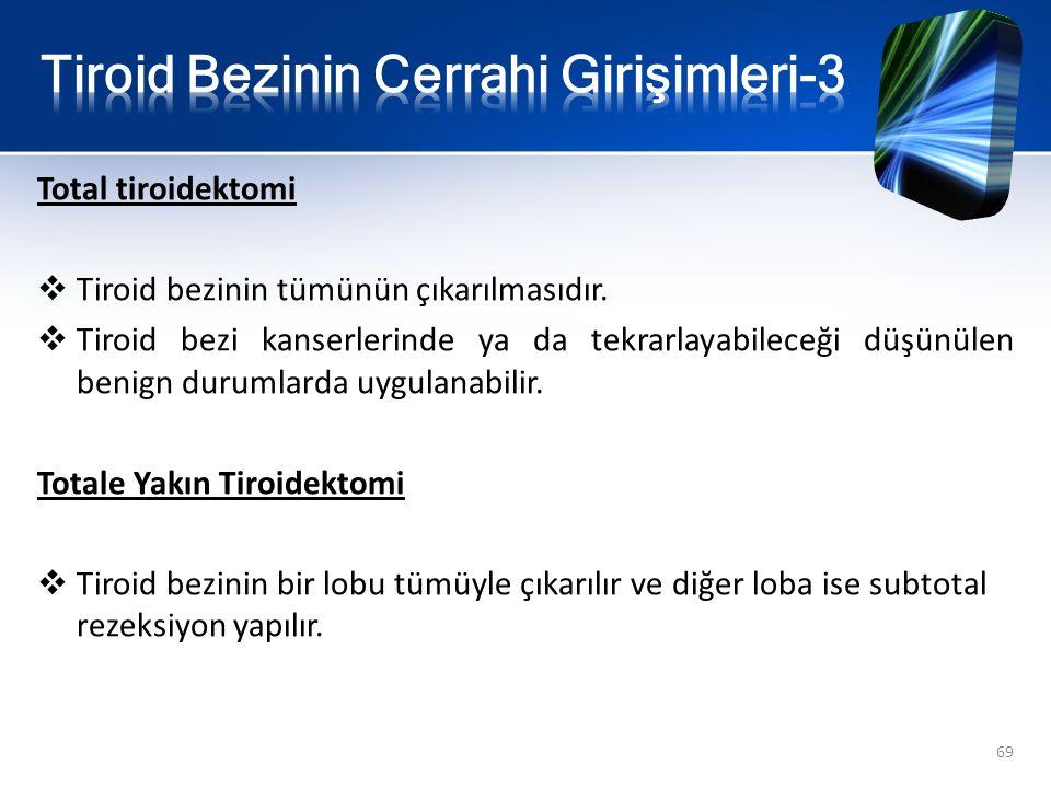 Tiroid Bezinin Cerrahi Girişimleri-3