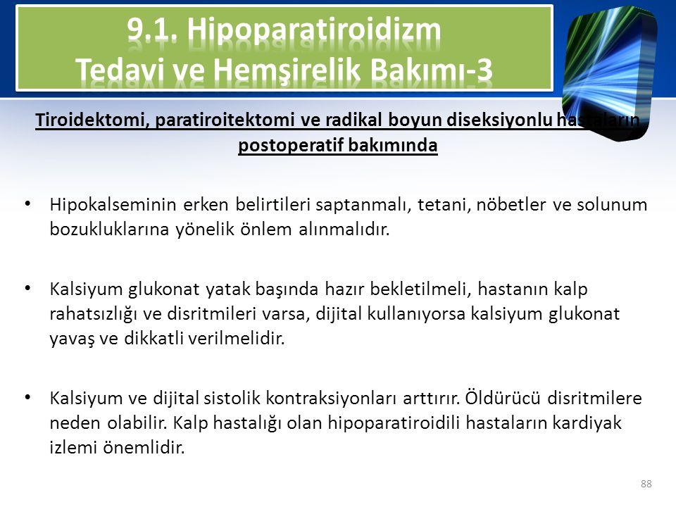 9.1. Hipoparatiroidizm Tedavi ve Hemşirelik Bakımı-3