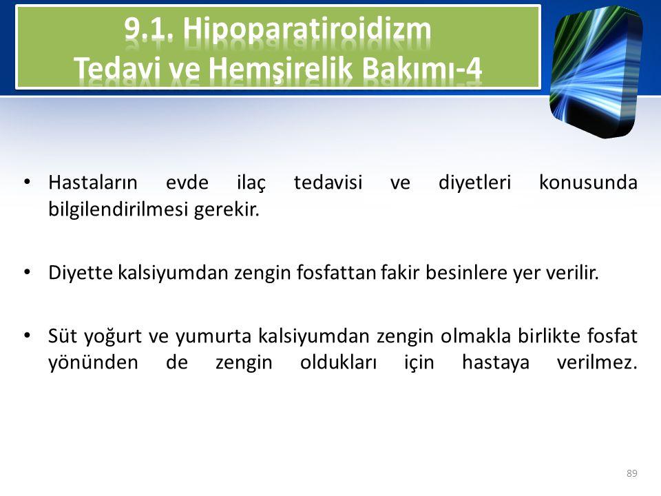 9.1. Hipoparatiroidizm Tedavi ve Hemşirelik Bakımı-4