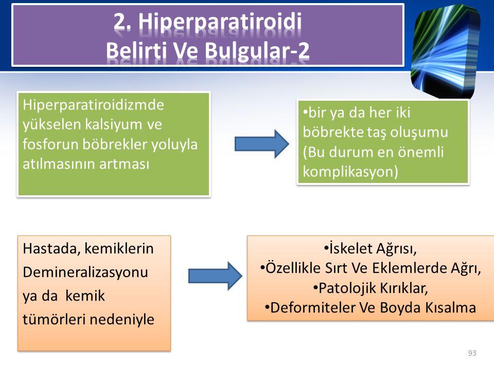 2. Hiperparatiroidi Belirti Ve Bulgular-2
