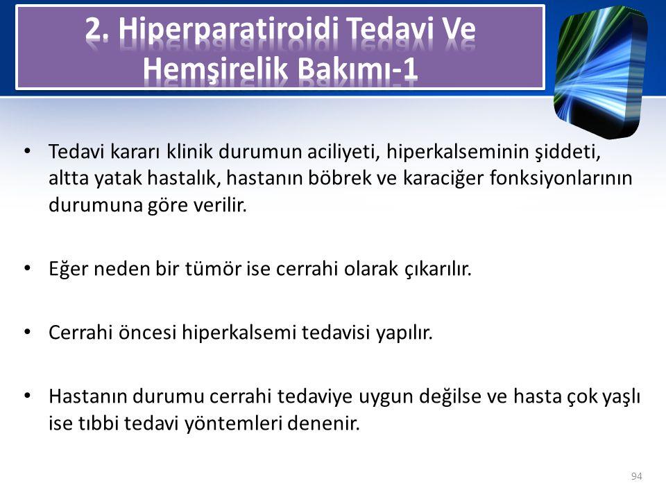 2. Hiperparatiroidi Tedavi Ve Hemşirelik Bakımı-1
