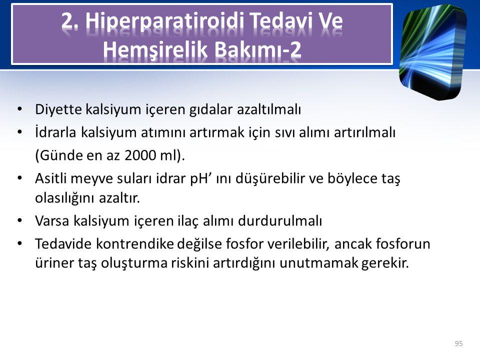 2. Hiperparatiroidi Tedavi Ve Hemşirelik Bakımı-2