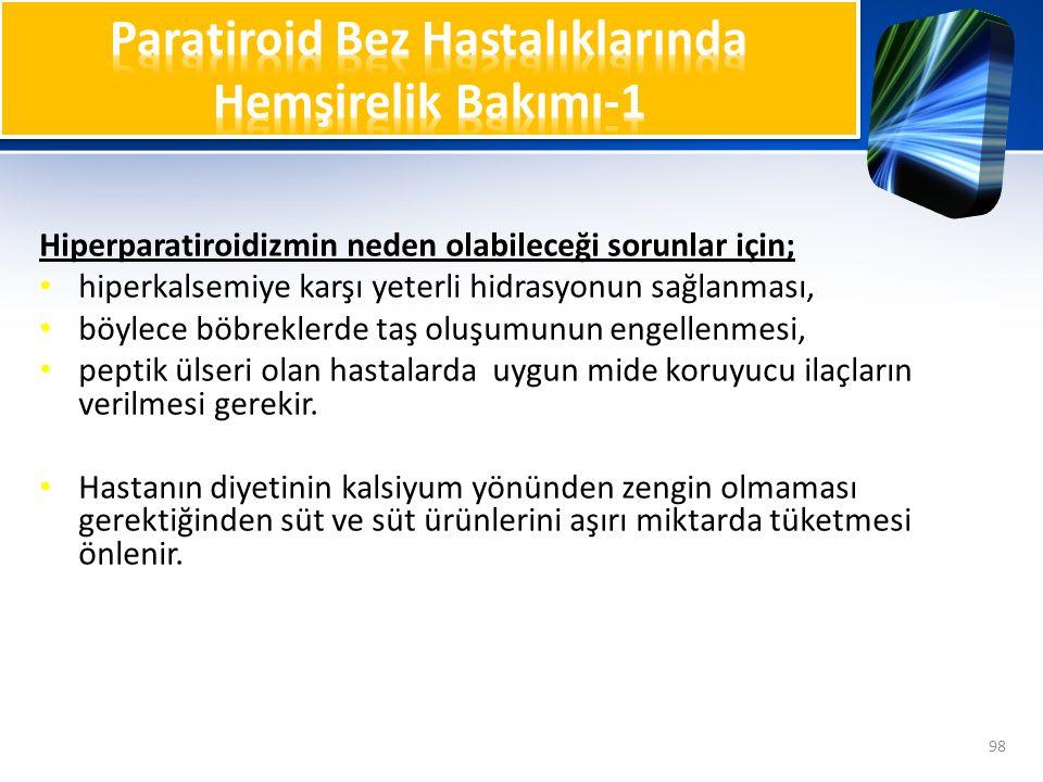 Paratiroid Bez Hastalıklarında Hemşirelik Bakımı-1