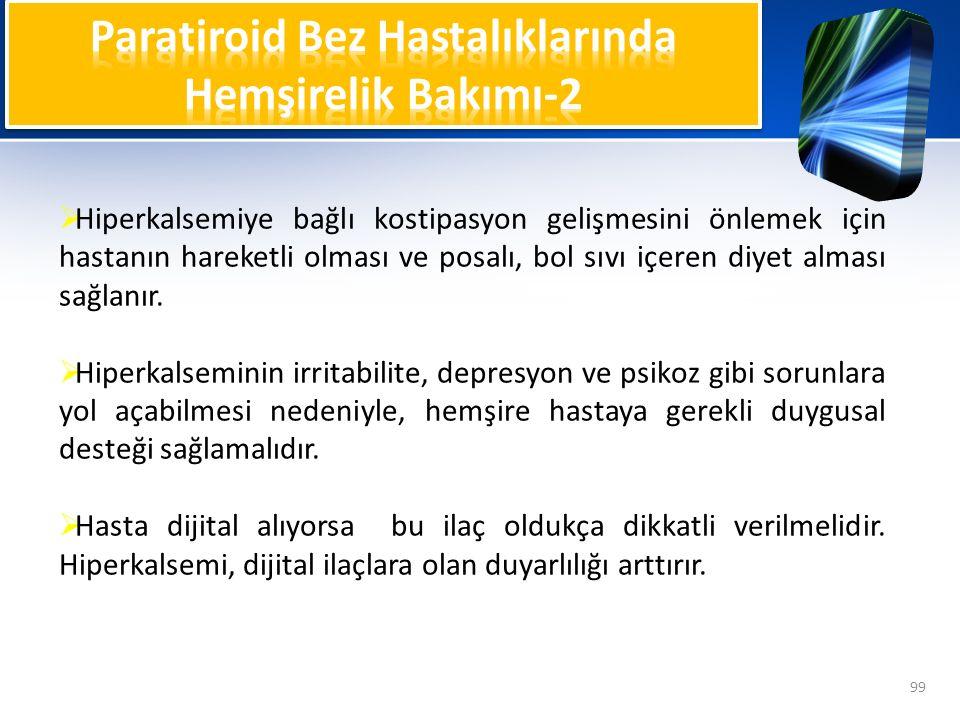 Paratiroid Bez Hastalıklarında Hemşirelik Bakımı-2