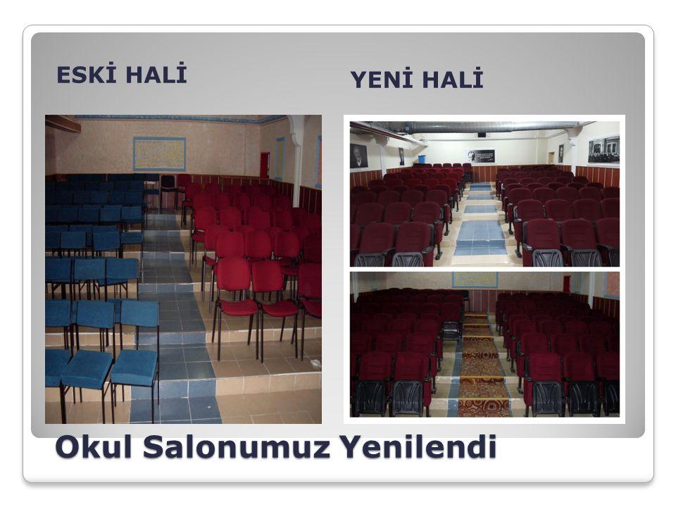Okul Salonumuz Yenilendi