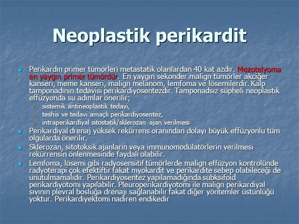 Neoplastik perikardit