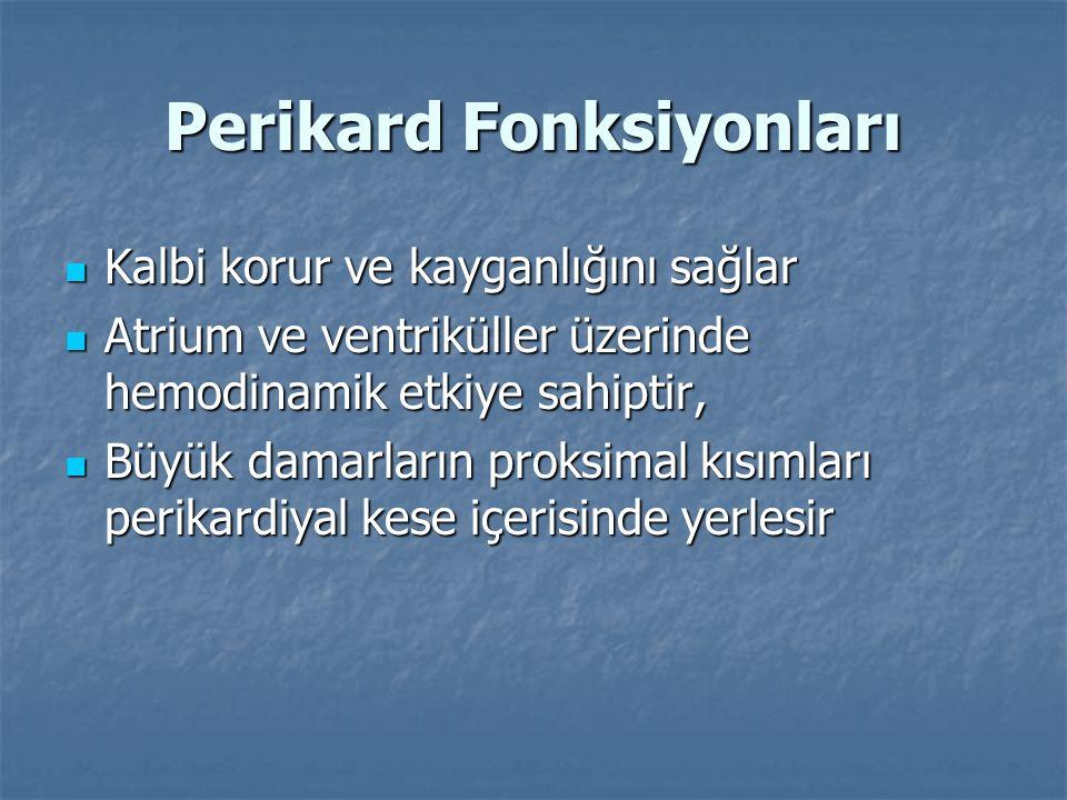 Perikard Fonksiyonları