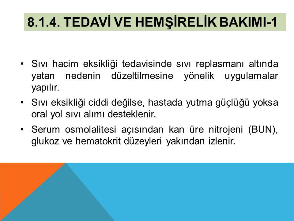 8.1.4. TEDAVİ VE HEMŞİRELİK BAKIMI-1