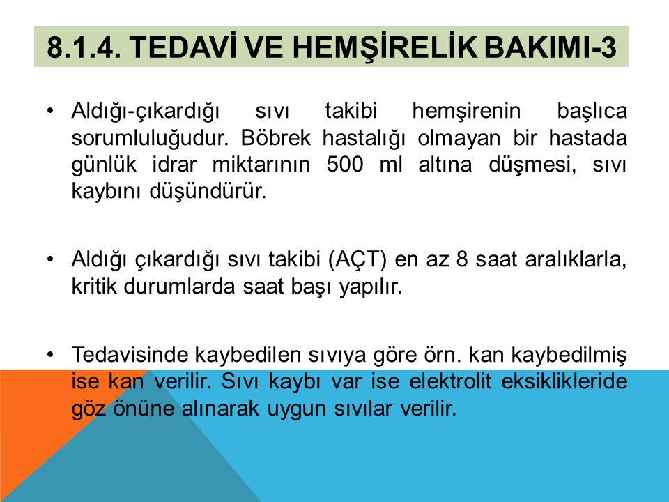 8.1.4. TEDAVİ VE HEMŞİRELİK BAKIMI-3