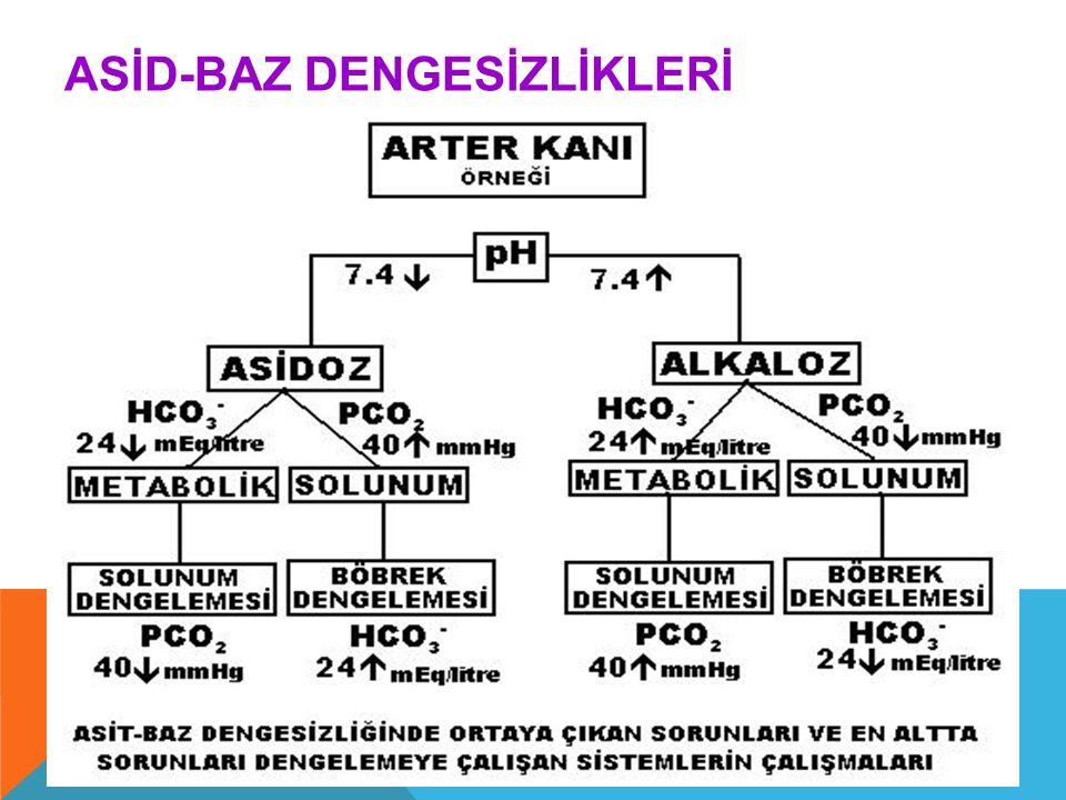 ASİD-BAZ DENGESİZLİKLERİ