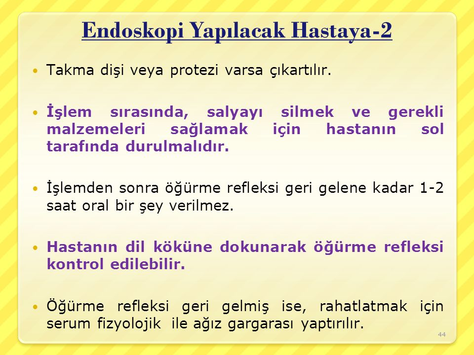 Endoskopi Yapılacak Hastaya-2
