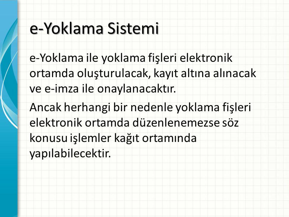 e-Yoklama Sistemi