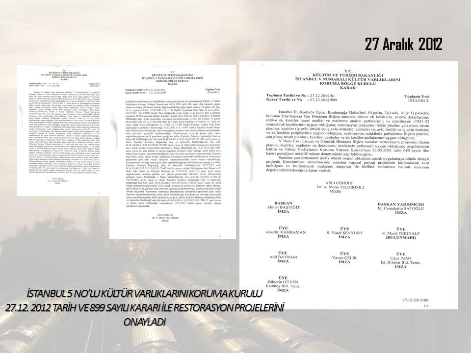 İSTANBUL 5 NO'LU KÜLTÜR VARLIKLARINI KORUMA KURULU