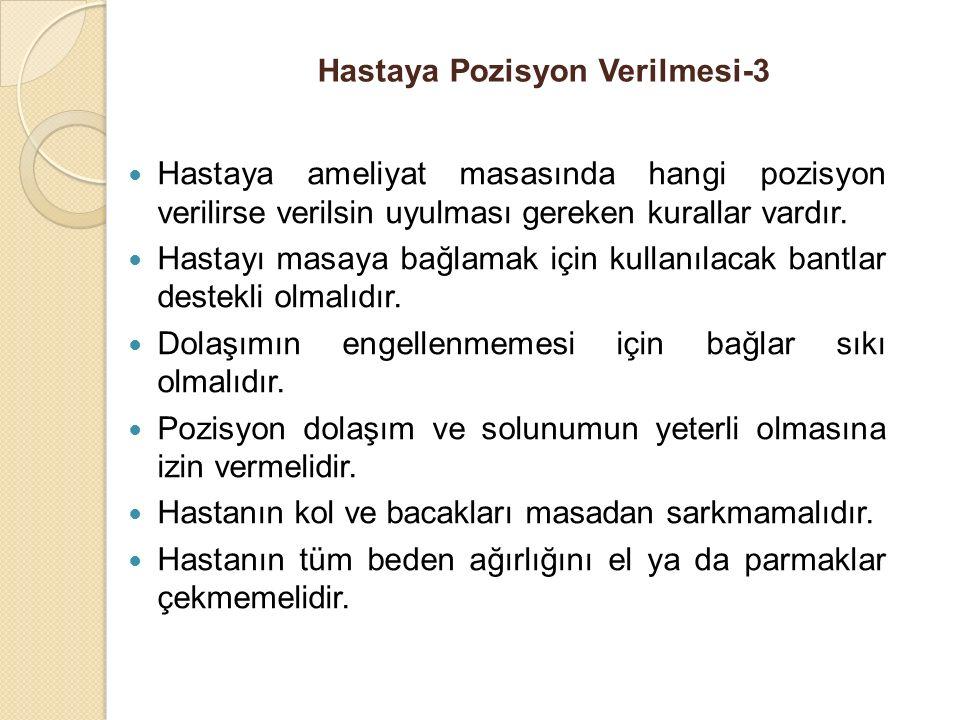 Hastaya Pozisyon Verilmesi-3