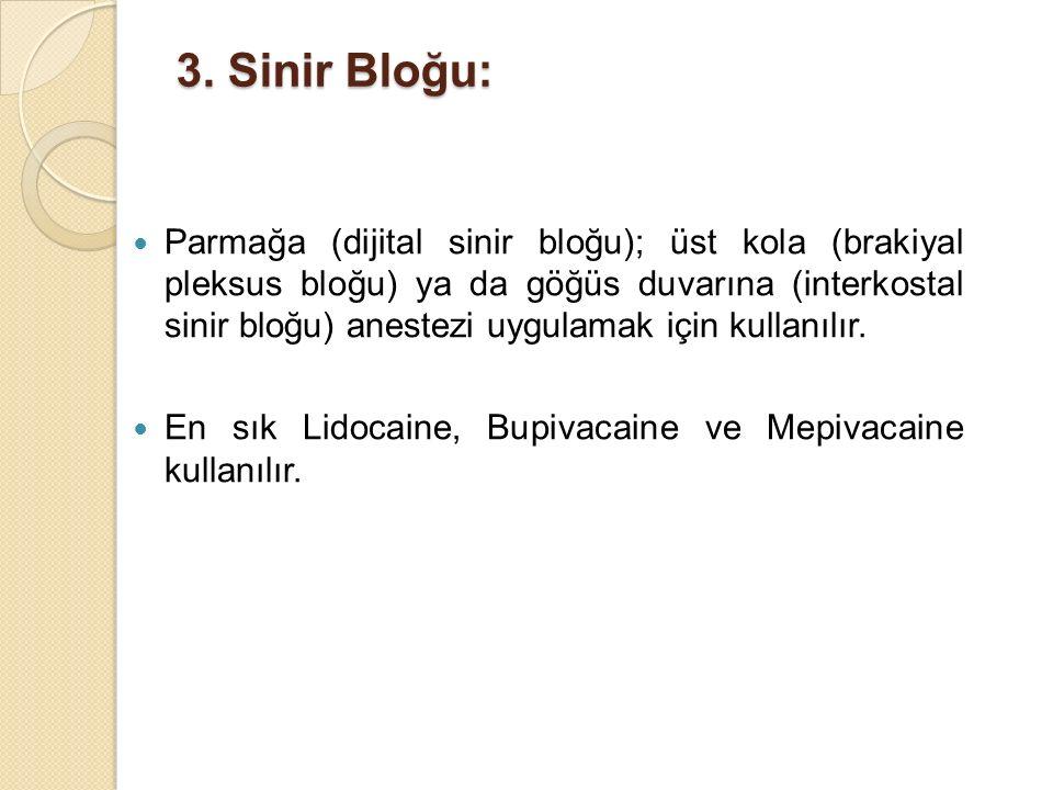 3. Sinir Bloğu:
