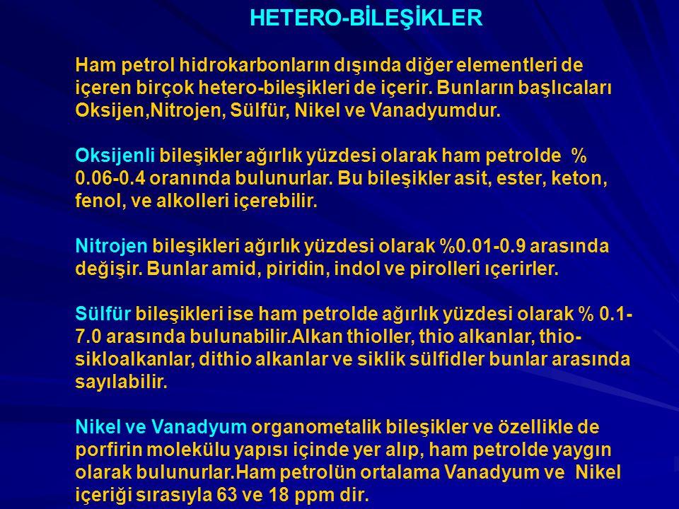 HETERO-BİLEŞİKLER
