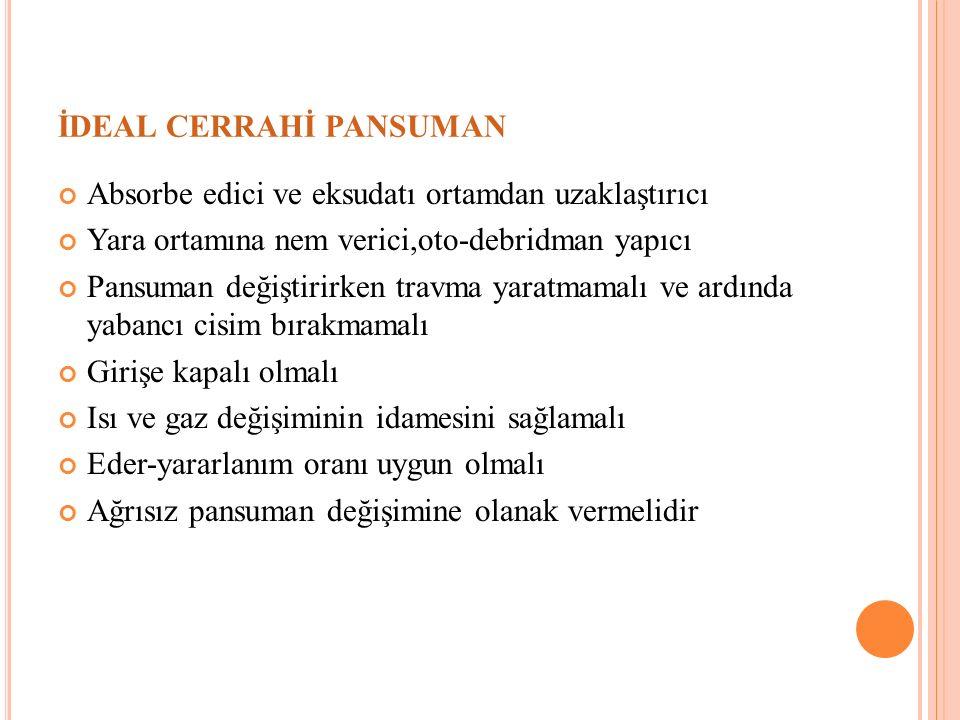 İDEAL CERRAHİ PANSUMAN